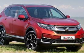 Mô phỏng lại thiết kế Honda CR-V 2020: Căng mắt để nhận ra sự khác biệt
