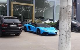 'Siêu bò' Lamborghini Aventador SV hàng hiếm từng của Phạm Trần Nhật Minh lột xác sang phong cách mới với biển số khác biệt