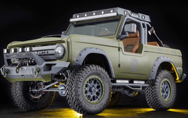 Ford sẽ có bán tải mới, chất hơn Ranger