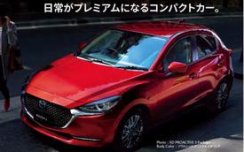 Mazda2 mới bất ngờ lộ diện: Hao hao Mazda3, mũi xe lại giống Mazda6