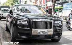 """Rolls-Royce Ghost Series II biển Lào """"Lộc phát, lộc phát"""" bất ngờ xuất hiện tại Sài Gòn"""