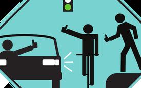 Mẹo xin đường và quy tắc nhường đường 'bất thành văn' cho lái mới