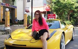 Thú chơi siêu xe và xe siêu sang 'toàn hàng khủng' của vợ cũ đại gia Phạm Trần Nhật Minh cùng con gái