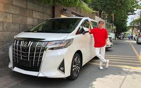 'Ông hoàng nhạc Việt' Đàm Vĩnh Hưng tậu Toyota Alphard nhập khẩu tư nhân giá hơn 4 tỷ đồng