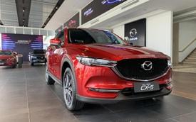 Loạt xe vừa được giảm phí trước bạ giúp khách Việt 'bỏ túi' hàng triệu đồng: Có xe hot Mazda CX-5 và Mazda3