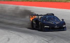 Siêu xe McLaren lại bốc cháy bất thường, lần này là siêu phẩm mới ra mắt