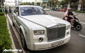 Rolls-Royce Phantom của đại gia ngành nội thất rạng rỡ trên phố Sài Gòn