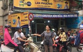 Người phụ nữ và chiếc còi vàng trên con đường tắc