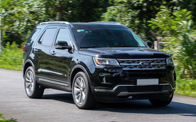Ford Explorer nâng cấp nhẹ tại Việt Nam: Tiện nghi hoàn thiện, giá bán hấp dẫn