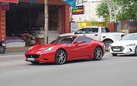 Ferrari California đẹp mê hồn âm thầm xuất hiện trên đường phố Vinh