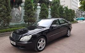 Bán Mercedes-Benz S500 cũ giá 399 triệu, chủ xe tuyên bố: 'Máy còn rất chất'