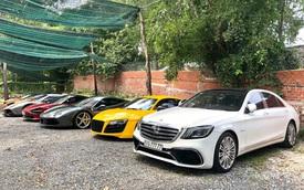 Loạt siêu xe triệu USD của đại gia Sài Thành rủ nhau 'phượt' Vũng Tàu