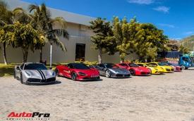 Trước đám cưới Cường 'Đô-la', dàn xe 250 tỷ hội ngộ thành viên Car Passion và Gia Lai Team