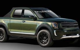 Kia sắp tung bán tải cạnh tranh Ford Ranger