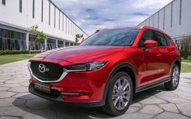 SUV hạng C bán chạy nhất tháng 1/2021: Mazda CX-5 bán gấp 3 lần Honda CR-V