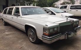Bắt gặp xế cổ Cadillac Fleetwood Brougham Limousine có tuổi đời 30 năm tại Sài Gòn