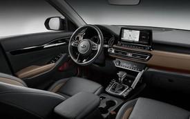 Đã có ảnh nội thất Kia Seltos: Cạnh tranh Honda HR-V bằng công nghệ