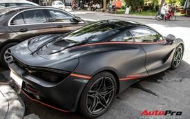 McLaren 720S đầu tiên tại Việt Nam bất ngờ xuất hiện ở Sài Gòn, nhưng lớp decal mới gây chú ý
