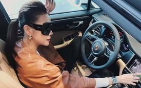 Sắm MINI One chưa lâu, siêu mẫu Thanh Hằng tự tặng sinh nhật bằng Porsche Macan 2019