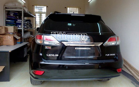 Nghệ An: Quyết định xử phạt 40 triệu đồng và tịch thu xe ô tô Lexus RX350
