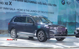 BMW X7 chính hãng chốt giá 7,5 tỷ đồng