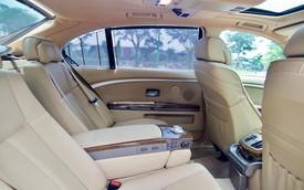 BMW 745Li đã đi hơn 100.000 km nhưng nội thất vẫn long lanh, chủ nhân rao bán giá 498 triệu đồng