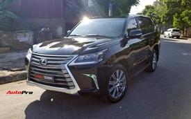 Chủ Toyota Land Cruiser 2015 chi nửa tỷ đồng biến xe thành Lexus LX570 đời mới