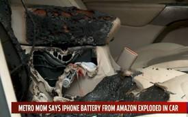 iPhone đối đầu xe Jeep và cái kết đắng lòng cho chủ nhân bất cẩn