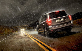 Những điều cần nhớ khi lái xe mùa mưa bão