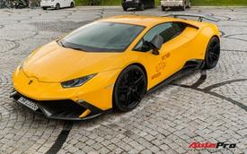 Lamborghini Huracan độ Mansory từng của Cường 'Đô-la' bất ngờ long lanh sau một thời gian phủ bụi kín đặc