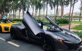 McLaren 650S Spider màu xám nhám mới có mặt tại Sài Gòn tưởng lạ mà quen