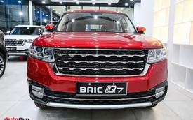 BAIC Q7 - SUV Trung Quốc nhái Range Rover thêm bản giá rẻ 588 triệu đồng tại Việt Nam
