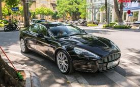 Hàng hiếm Aston Martin Rapide của đại gia Hà Thành đeo biển '1 năm 4 mùa lộc phát phát'