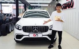 Ưng Hoàng Phúc độ Mercedes-Benz GLC 250 mới mua theo phong cách hiệu suất cao Mercedes-AMG GLC 63