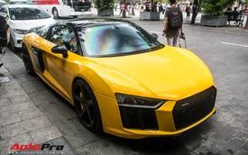 Sau khi thay áo mới, Audi R8 V10 Plus của đại gia Bến Tre liên tục xuất hiện trên đường phố Sài Gòn