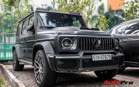 'Khủng long' Mercedes-AMG G63 độ bodykit Brabus xuất hiện trên phố, biển số dễ gây lầm tưởng với xe của Minh 'Nhựa'