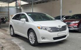 Qua thời đỉnh cao, Toyota Venza bán lại rẻ hơn giá Toyota Innova mua mới