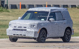 """Thêm ảnh thử nghiệm Ford Baby Bronco - """"SUV cỡ nhỏ thuần off-road"""""""