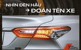 [Quiz] Bạn có phải là người đam mê tới mức nhìn đèn hậu là đoán được tên xe?