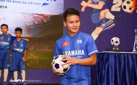 Quang Hải đồng hành cùng U13 Yamaha Cup 2019, nâng cao an toàn khi đi xe máy cho trẻ em Việt Nam