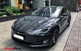 Tesla Model S 100D độc nhất Việt Nam lần đầu lăn bánh sau 6 tháng về nước