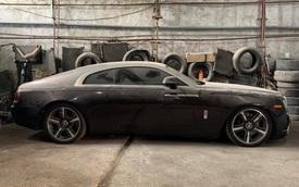 Đại gia Việt 'bỏ rơi' Rolls-Royce Wraith 2 tông màu hiếm đến nỗi phủ bụi, dân mạng xót xa