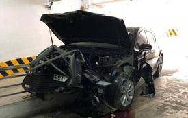Dân mạng xôn xao vụ Toyota Camry đời mới giá hơn 1 tỷ đồng gặp tai nạn nhưng không bung túi khí
