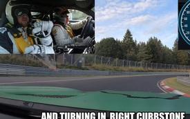 """Bịt mắt ngồi trên Mercedes-AMG GT R, người đàn ông này vẫn thuộc lòng """"Địa ngục xanh"""" Nurburgring"""