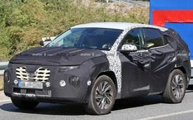 Hyundai Tucson đời mới lần đầu lộ diện trên đường phố