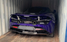 McLaren 720S màu tím hàng độc cập bến Việt Nam, thuộc sở hữu của đại gia đang nắm trong tay những siêu xe độ 'khủng'
