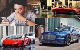 Bentley Continental GT First Edition hàng độc Việt Nam về tay bạn trai tin đồn của HH Đỗ Mỹ Linh nhưng bộ sưu tập xe hiện tại còn gây choáng hơn
