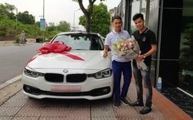 Ông bố sinh năm 1996 'tậu' xe lướt BMW 320i giá 1,2 tỷ đồng khiến nhiều người trầm trồ