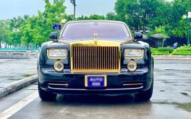 Rolls-Royce Phantom mạ vàng qua sử dụng được bán lại với giá bao nhiêu?