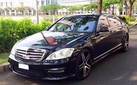 Sau 80.000 km, Mercedes-Benz S-Class độ kiểu S63 AMG bán lại chỉ hơn 600 triệu đồng, rẻ ngang Hyundai Elantra thế hệ mới